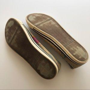 Xhilaration Shoes - Xhilaration Floral Slip-On Sneakers • Size 6.5